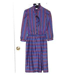 Vintage Leslie Fay 12 Dress